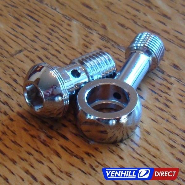 Chrome Stainless Braided Line : Venhill stainless brake lines yamaha r front rear ebay